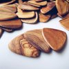 Olive Wood Guitar Picks by The House
