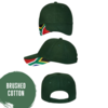 South African Flag Brushed Cotton Cap / Go Bokke! by Little Lion Cub Boutique