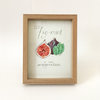 Fig-mint of your imagination (Framed print) by Josephine Draws