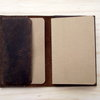 Notebook Cover in Crazy Horse Leather by Vincent Leather