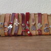 Key Leather Bracelets by Shackletons