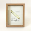 Penne for your thoughts (framed print) by Josephine Draws