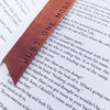 The Leather Bookmark by Rugged Moose Leather