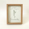 All-thyme favourite (framed print) by Josephine Draws