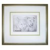 Vernes wildlife drawing - Cheetahs A5 limited edition card print by Verne's art and Crafts