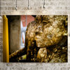 Meditation in Gold on Canvas by Vermeulen Photography