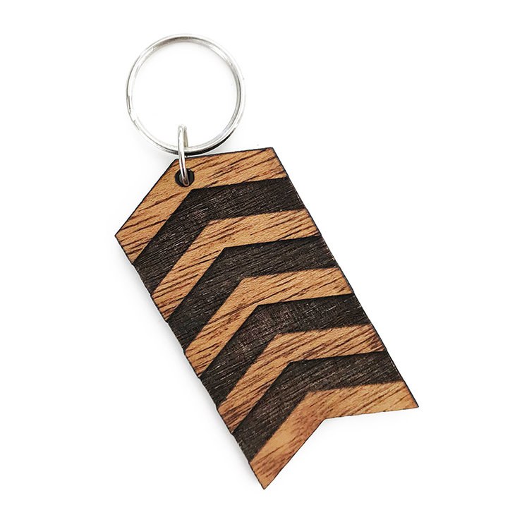 Wood Keyring (FREE SHIPPING) by Nice