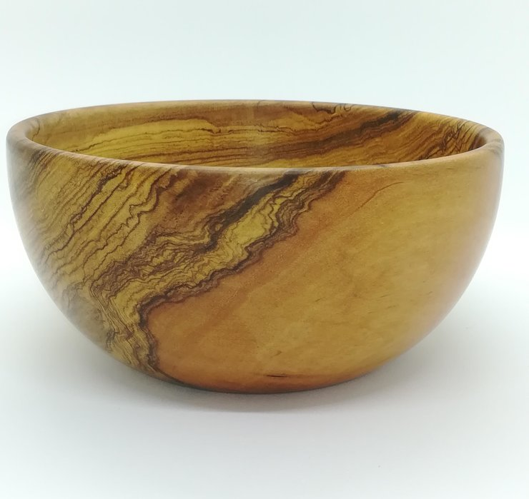 Wooden side bowl by bykrause
