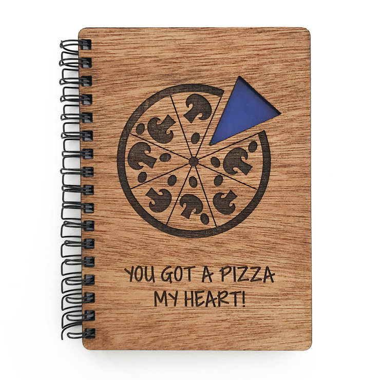 A5 Wooden Spiral Notebook (FREE SHIPPING) by Nice