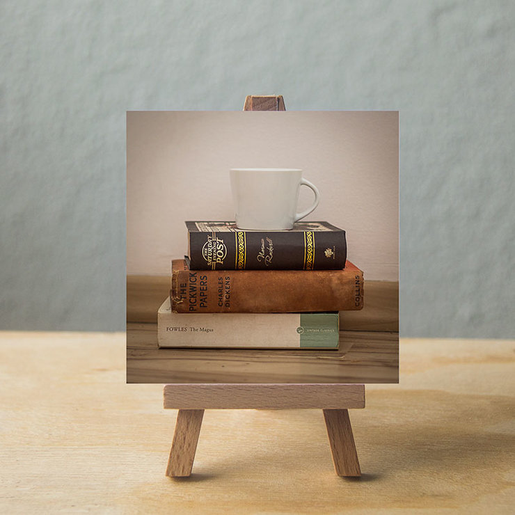 For the love of books by Flat White Concepts