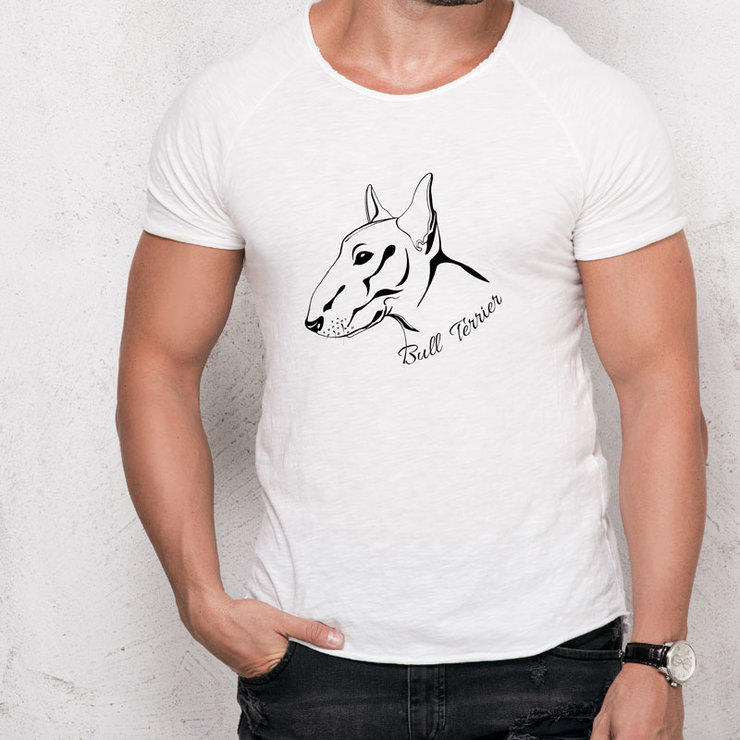 Bull Terrier T-Shirt by Maverick Design