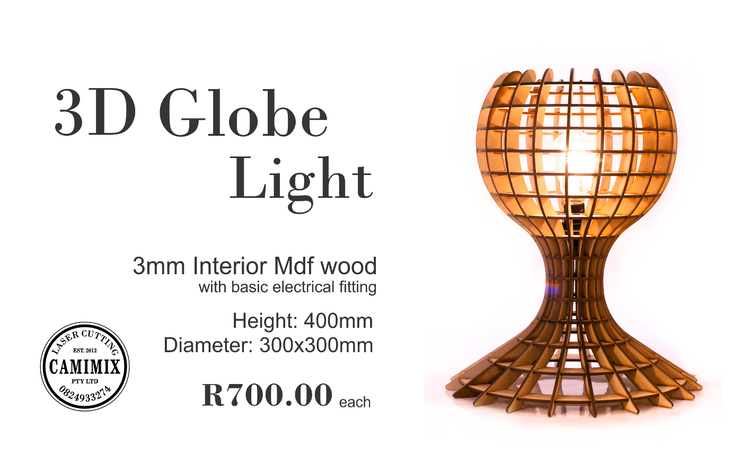 Globe Lamp by CAMIMIX PTY LTD