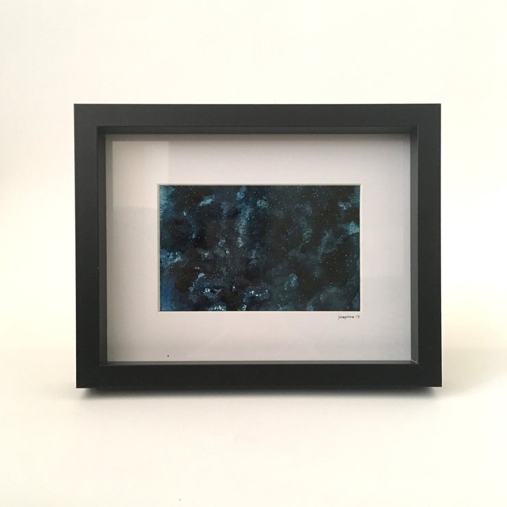 Constellations: Clarens (framed print) by Josephine Draws