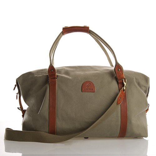 LEATHIM DUFFEL CLASSIC TRAVEL BAG by Leathim