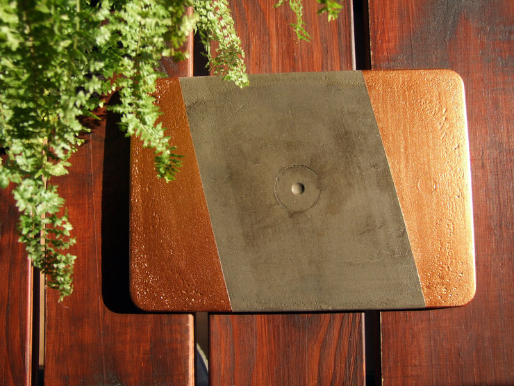 Concrete Trivet by Fracture Creations