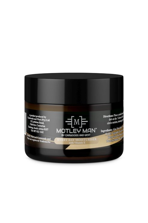 Motley Man Everyday Moisturizer 50ml  by Camwoods and West Pty Ltd
