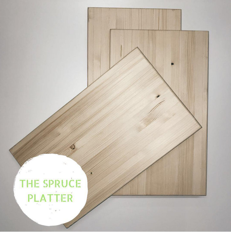 The Spruce Platter by Home Decor Designz