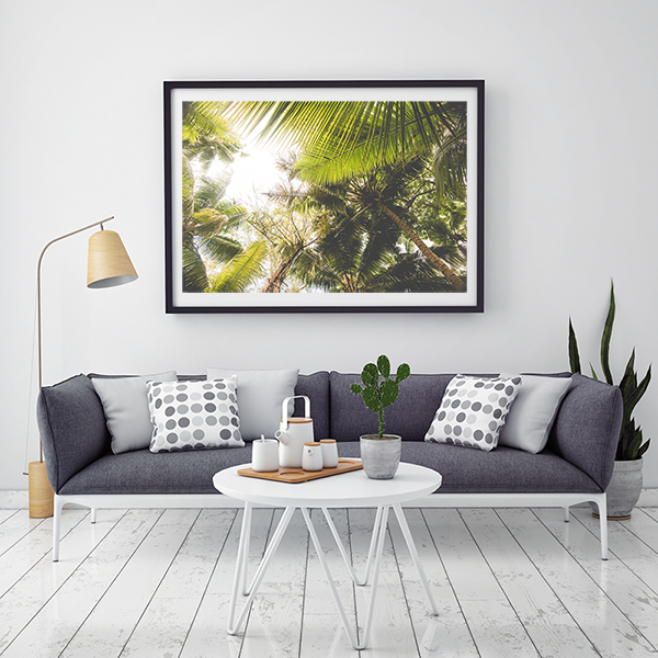 Vintage palms by African Artwork