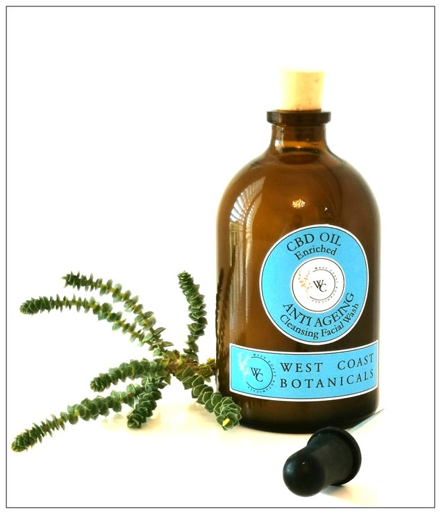 Cleansing facial wash by West Coast Botanicals
