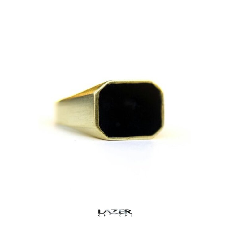 Signet ring by Lazer Options