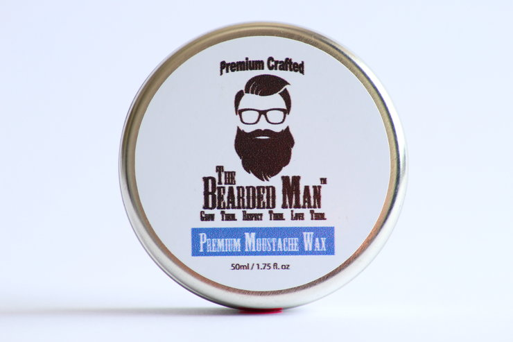 Premium Moustache Wax - 50ml by The Bearded Man SA
