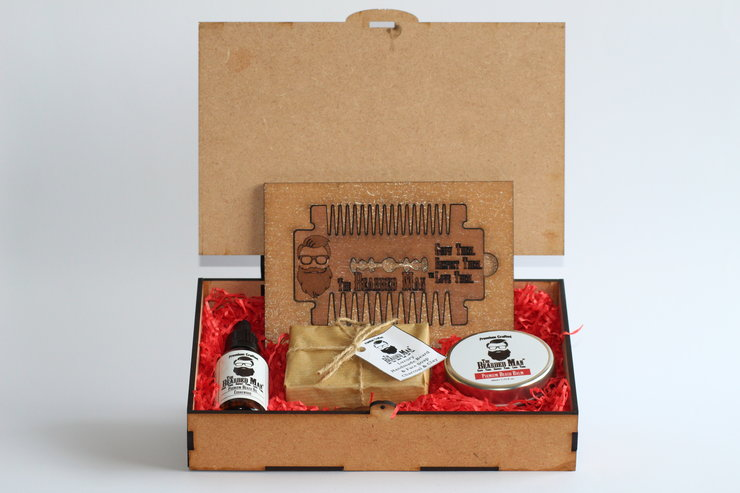 Premium Gift Box by The Bearded Man SA
